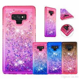 Pour iphone 7 8 X Xs Max XR Cas Glitter Quicksand Liquide Étincelle Brillant Bling Diamant Couverture Pour Samsung Galaxy S10 Plus S10e ? partir de fabricateur