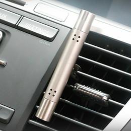 2019 acessórios carro laranja Detalhes sobre o carro de liga de zinco carro ar ambientador perfume aroma difusor automóveis ventilação clipe