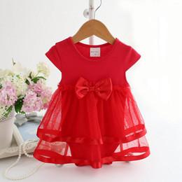 Trajes de vestir para concursos online-Traje con Mariposa Bebé Chicas Flor Boda Concurso Princesa Bowknot Fiesta Comunión Vestido Casa Chica Romper