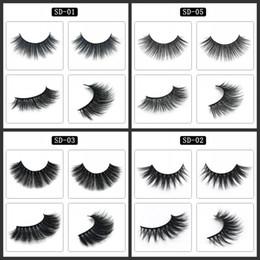 3D faux cils imitation eau yeux cils extension maquillage outils naturels épais faux cils vison cheveux cils en trois dimensions 3 75zy ? partir de fabricateur
