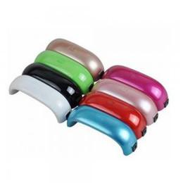 Mécanisme de traitement des ongles 9w en Ligne-Mini USB 9W LED UV Sèche-Ongles lampe de manucure Curing Lampe Machine Gel Nail Polish Puissant Lampe UV Vernis Léger Ongles Outils Rapide Séchage TTA148