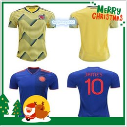38a2f13d4 thai colombia soccer shirt 2019 - 2019 Colombia soccer Jersey Colombia Home  yellow Soccer shirt 2018