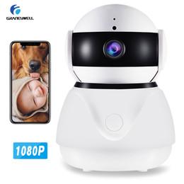 systèmes de surveillance à domicile Promotion Caméra de sécurité 1080P Caméra de sécurité intelligente Vision nocturne 2MP CCTV Caméra Moniteur de bébé Sécurité à la maison Système de caméras de surveillance Système sans fil