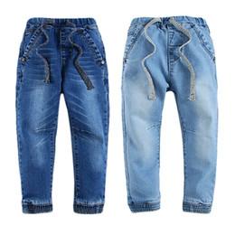 Hiver Garçons Jeans Fashion Long Jeans pour Filles Taille Élastique Cargo Fleece Inner Enfants Denim Pants 17080403 ? partir de fabricateur