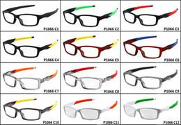 2019 occhiali da vista 2018 summer newest Occhiali da sole per uomo e donna Outdoor Bicycle Glass occhiali da sole da uomo NICE FACE Porta gli occhiali da vista Flat view occhiali da vista economici