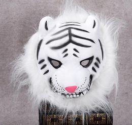 2019 tier wolf maske Halloween Maske Raw Edge Tiermaske Löwe Tiger Affe Wolf Maskerade EVA Tiermaske GB423 rabatt tier wolf maske