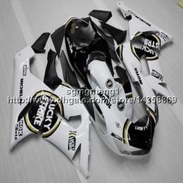 2019 plastica zx636 23 colori + Botls nero bianco coprimoto per Kawasaki ZX 6R ZX636 2005 2006 ABS carenatura in plastica plastica zx636 economici
