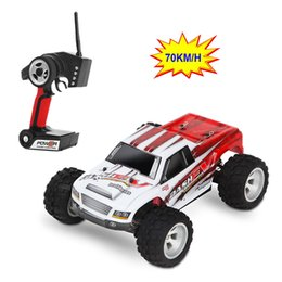 radio control trucks Coupons - 70km  H ,New Arrival 1 :18 4wd Rc Car Wltoys A979 -B 2 .4g Radio Control High Speed Truck Rc Buggy Off -Road Vs Wltoys A959 Truck