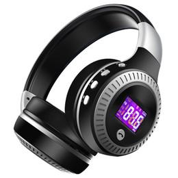 Микро-гарнитура bluetooth гарнитура онлайн-ZEALOT B19 Bass стерео беспроводные наушники Bluetooth-гарнитура над ухом FM-радио Micro SD карта MP3 играть с микрофоном