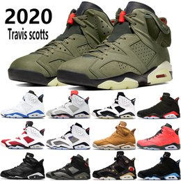 2020 sto scarpe da basket 2019 Nike air jordan 6 uomini Black Infrared 6 6s scarpe da basket mens CNY Carmine Gatorade verde Tinker UNC Black Cat scarpe da ginnastica progettista degli Stati Uniti US 7-13 sto scarpe da basket economici