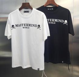 19ss TOP Summer Mastermind Japan World Collection Carta Impreso Hombres Mujeres MMJ Camisetas de algodón Camisetas de manga corta Hip hop Camisetas de moda desde fabricantes
