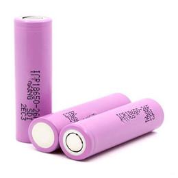 3.7v batería de iones de litio aa Rebajas Alta calidad 3.7 V 2600 mAh recargable 18650 Li-ion batería de litio para Samsung ICR18650 26F baterías envío gratis