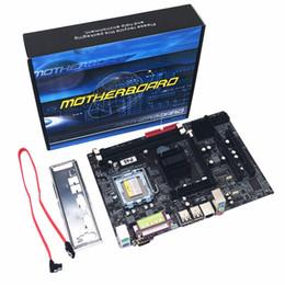 2019 placas base de fru Placa base profesional P45 Socket LGA 771 DDR3 Memoria 8GB Soporte de placa base de computadora CPU Xeon Chip de audio de 6 canales