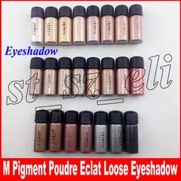 Maquillage de fard à paupières simple en Ligne-M maquillage pigment poudre eclat 2,5g fard à paupières 12 couleurs