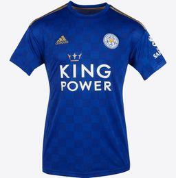 Leicester City 2019/20 Die Füchse Fußball Trikots Vardy Maddison grau Futbol Camisa Fußball T-Shirt Shirt Kit Maillot Maglia Tops Trikot von Fabrikanten