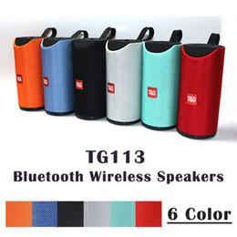 2019 xiaomi мини-квадрат box bluetooth speaker TG113 Беспроводные Bluetooth-динамики Динамики Сабвуферы Профиль громкой связи Поддержка стереофонических басов TF USB-карта AUX Line In Hi-Fi 1200 мАч зарядка 3