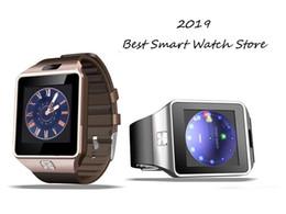 2019 gv18 водонепроницаемые часы DZ09 смарт-часы Dz09 часы с Bluetooth носимых устройств Smartwatch для iPhone Android телефон часы с камерой часы SIM / TF слот