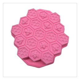 silicone for molds Coupons - Honeycomb Cake Molds for Kids Silicone Baking Cake Candy Cookie Mold Baking Tool Suitable For Making Cake