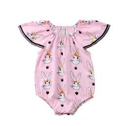 Canada jour de pâques lapin combinaisons complètes vêtements enfants vêtements Offre