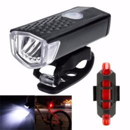 Yeni Emergingstyle MTB Bisiklet Bisiklet LED Işıkları USB Şarj Edilebilir Başkanı Ön Işık Arka Kuyruk Lambası Seti (siyah kırmızı) nereden