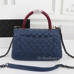 einzigartige handtaschen für Rabatt Mode Frauen Einzigartige Designer-Umhängetaschen Damen berühmten Dual-Use-Schnalle Tasche weiblich importiert Lederhandtasche Vintage Hardware Geldbörse