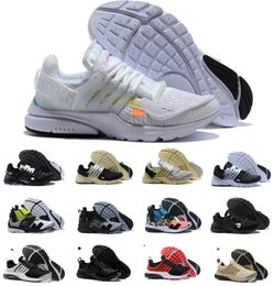 2019 bottes décontractées pour hommes 2019 Nouveau Presto V2 Ultra BR TP QS 2.0 Noir Blanc X Chaussures De Course Sport Femmes Air Hommes Prestos Chaussures De Course Taille 36-46