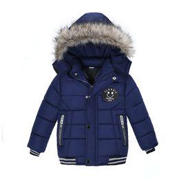 große jungs daunenjacke Rabatt NEUE Qualitäts 2017 Winter Kind Boy Down Jacket Parka Big Girl Thin warmer Mantel 3 4 5 6 7 Year Licht mit Kapuze Outer