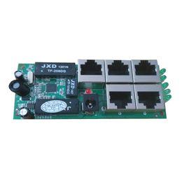 Canada Livraison gratuite Module de commutation Ethernet rapide RJ45 5 ports 10/100mbps de petite taille Module de vente directe Ethernet Offre