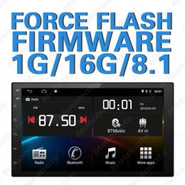 2019 sensori di allarme per animali domestici GPS stereo per auto quad core Android 8.1 ultra sottile da 7 pollici per ISO 2DIN con Navi / radio / RDS / Bluetooth / WIFI / MirrorLink / SWC # 3153