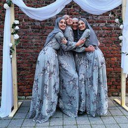 2019 vestito reale nobile Più le donne musulmane Turco Arabo paillettes Abaya sera Hijab abito caftano Caftano Ramadan islamico Abbigliamento Abiti Vestidos