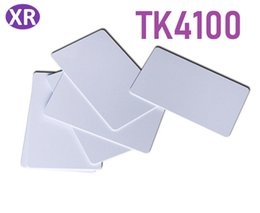 2019 apenas inteligente DHL 500 pcs RFID cartão de identificação sem contato 125 khz Leia somente Acesso de Acesso chave tempo Attendence TK4100 Pvc Cartão De Plástico Em Branco Cartão de PVC Inteligente apenas inteligente barato