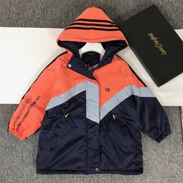 chicos, chicas, abrigos de cachemira de los nuevos abrigos de invierno con capucha chaquetas niños niños ropa de niñas regalos de Navidad 191202-3662 * 6520 desde fabricantes