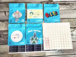 COOKIES Californie SF 8 3.5G Mylar 420 Emballage Sacs sécurité enfants Gelatti lait de céréales Gary Payton biscuits Sac avec Hologram Sticker ? partir de fabricateur