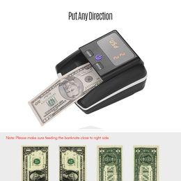 Petites machines portables en Ligne-Portable petit compteur de valeur de valeur de valeur de détecteur de billet de banque de billets UV / MG / IR / DD contrefaçon de détecteur machine de testeur de trésorerie