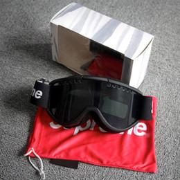 Gafas para esquiar online-DragonPad adultos esquí gafas a prueba de viento anti-rana Protección para los ojos Anteojos de Esquí