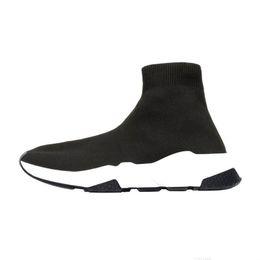 chaud!! 2019 chaussures de marque de luxe entraîneur de vitesse blanc bule rouge triple noir blanc plat chaussettes de mode chaussures de sport ? partir de fabricateur