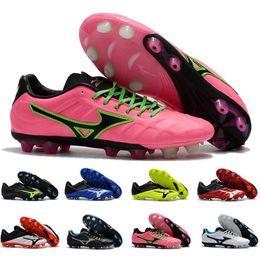 2019 Rebula V1 BASARA AS WID FG NEO II Zapatos de fútbol Zapatillas de deporte para hombre Pink Maillots De Football Boots Futsal Sports Designer Sneakers desde fabricantes