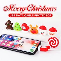 2019 mario lanyard großhandel Weihnachten niedlichen Tier Kabel Bissschutz USB Datenkabel Ladegerät Protector für iPhone Kabelaufwicklung Kabel Veranstalter Wire Saver
