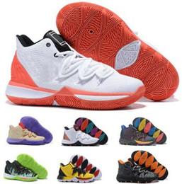 cb83ee5e71ca 2019 5 Basketball Shoes Sneakers Mens Man Grey Magic Ikhet Taco Bred Neon  Blends PE 3 Mamba Concepts Kyrie Zapatilla Baskets Ball Shoes