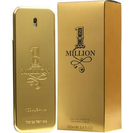 2019 venda quente 1 um milhão de pulverizador do banna do Ra para homens EDT 3.4 oz / perfume novo selado de 100 ml da fragrância de