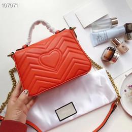 2019 luxus kette crossbody handtasche Marken-Designerhandtaschen arbeiten Luxuxdamen kleine Kettenschulterbeutelkurierbeutel-Frauen crossbody um, die freie Größe des Verkaufs geben: 20x15cm günstig luxus kette crossbody handtasche