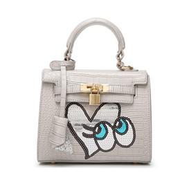 2019 senhoras bolsas bonitas 2019 Satchel Purse Packlock Bolsa para Senhora Assinatura Designer de moda Bolsa Bolsa com Primavera Mulheres Perfeitas Cores Bonitas senhoras bolsas bonitas barato