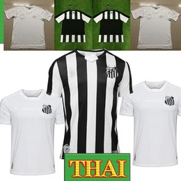 Maillot brésilien thai en Ligne-Thai 19/20 brazil SANTOS maillots de football FC 8 CUEVAS 11 RODRYGO le football shitrs Soteldo DODO D.GONZALEZ Santos 2019
