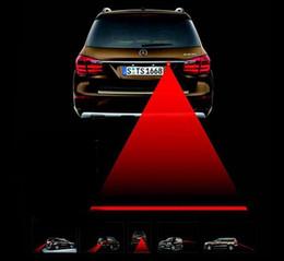 magnet blaues licht Rabatt Anti Collision Heck Fahrzeug Laser Warnleuchte LED Hinten Hinten Warnrücklauf Auto Rearing Warnlicht