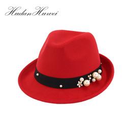 2018 New Winter Fedora Hats for Men or Women Wool Felt Jazz Hat Vintage  Panama Cap MNBJB012 D19011102 4f3de8cb6492