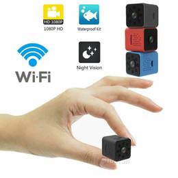 Micro câmeras escondidas sem fio on-line-Sq23 wifi mini câmera sem fio micro cam corpo ip secreto noite versão dvr bicicleta ocultar espia oculta gizli kamera tommy hilfigger