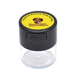 contenitori per alimenti in vetro coperchi Sconti 2 dimensioni Vacuum Sealed Jar Vacuum Jars Coperchio Food Glass Grains Herb Spice Contenitore Storage Pill Case Box Canister Kitchen Bottle Tank