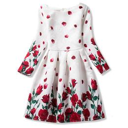 2019 vestidos para adolescentes Outono Adolescentes vestidos da menina Para manga longa Formal Vestidos menina adolescentes do partido da flor Criança Vestido Vestido Infantil 10 11 12 Anos Y1891409 vestidos para adolescentes barato