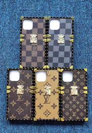 2019 handy-specials Luxus-Designer-Telefon-Kasten für IPhone 11Pro 11promax XS MAX Qualitäts-TPU Famous Druck zurück Haut-Abdeckung für Galaxie note10 note10pro S9