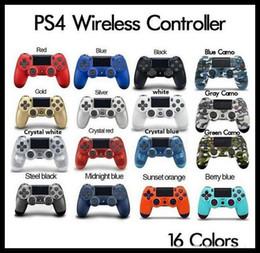 Bluetooth PS4 Wireless Controller para PS4 Vibration Joystick Gamepad PS4 Game Controller para Sony Play Station com caixa de varejo de